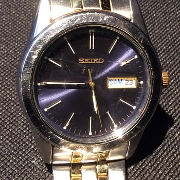 Men's Seiko watch - Wristwatches