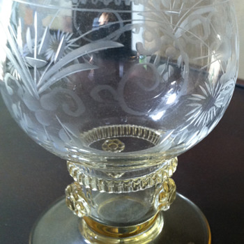 Please Identify - Glass Goblet - Glassware