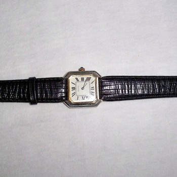 Vintage Silver Men&#039;s Watch
