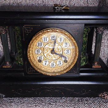 Looking For Info:  Sessions / EN Welch Mantel Clock - Clocks