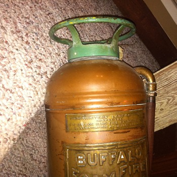 Need some help finding a year on this Buffalo Foam Fire Extinguisher - Firefighting