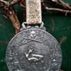 WMF Zinn Pewter Hunting Scene Wall Plaque Medallion 1950s, Flea Market Find, $2.00