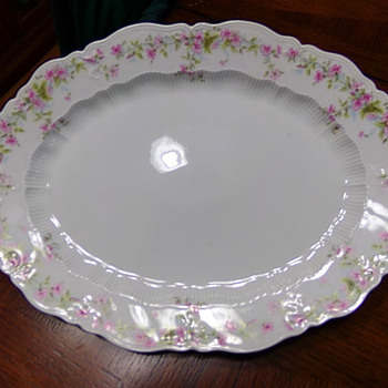 Carl Tielsch Platter? - China and Dinnerware