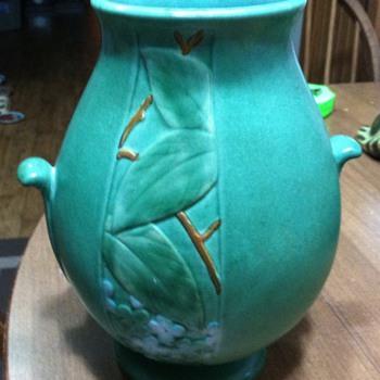 Weller Velva vase 1930-1940 - Pottery