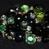 Vendome Vintage Glass Bead Necklace