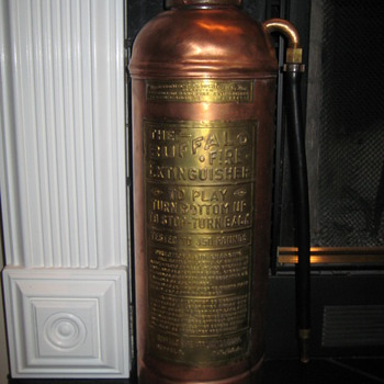1930's Buffalo Fire Extinguisher