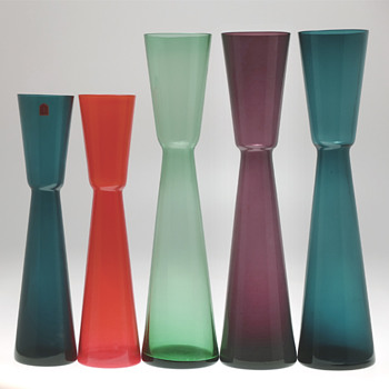 Alsterfors early 1960s - Vases by Fabian Lundqvist.