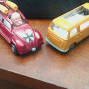 Matchbox Volkswagen's - Model Cars