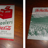 A few more early Coca-Cola paper items that are displayed on my shelves...