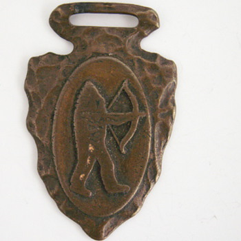 Arrow Head Style Watch Fob
