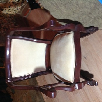 My new inherited rocking chair - Furniture