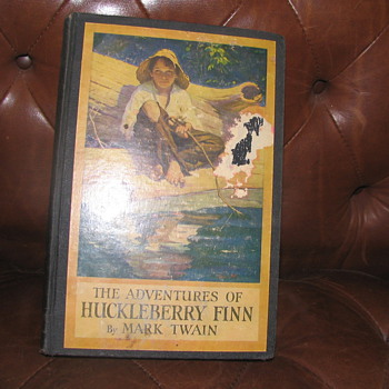 1st Edition &quot;The Adventures of Huckleberry Finn&quot; Hardcover Book - Books