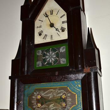 Antique Steeple Clock - Clocks