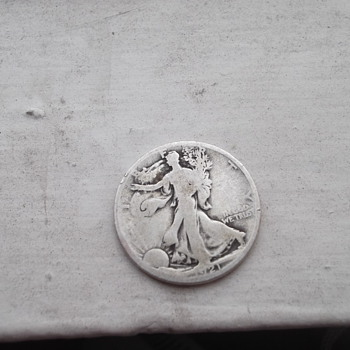 1921 D Walking Liberty Half Dollar
