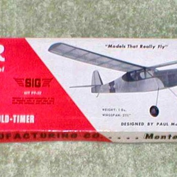 "1974 - SIG Balsa Airplane Kit - ""Tiger"""