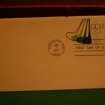1977 Golf USA 13¢ First Day Issue Envelope - Stamps