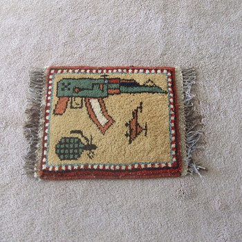 "Afghan War ""rug"" from Soviet era"
