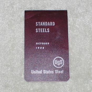 1958 United States Steel Technical manual - Paper