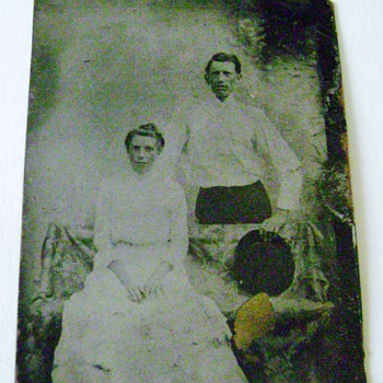 Antique Tintype Photograph - Photographs
