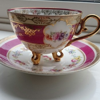 Porcelain Cup And Saucer Help Needed