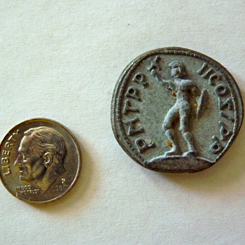 Another ancient coin maybe greek or roman - World Coins