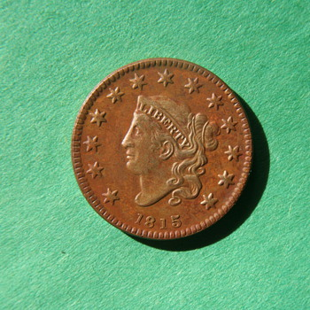 1815 US Large Cent Proof...4 known to exist. - US Coins