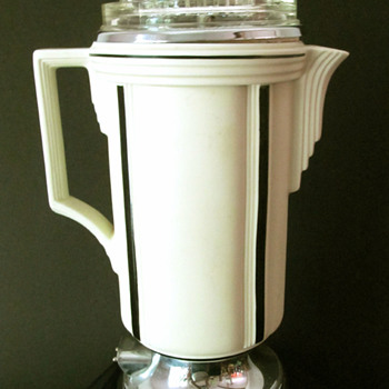Royal Rochester Extractolator Art Deco Coffee Percolator - Art Deco