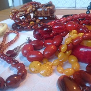 Celebrating vintage plastic jewerly  - Costume Jewelry
