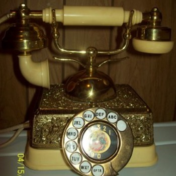 4 Prong Telephone from Singapore - Telephones
