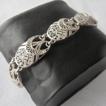 Favorite Vintage Sterling Silver Alice Caviness Bracelet - On my wrist since December 25th - Fine Jewelry