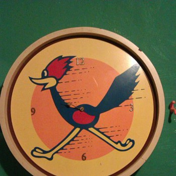 road runner clock