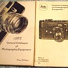1967 and 1972-leitz leica catalogues.