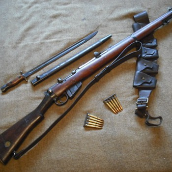 Australian SMLE Rifle - Military and Wartime