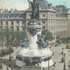 PARIS. - LA STATUE DE LA RÉPUBLIQUE