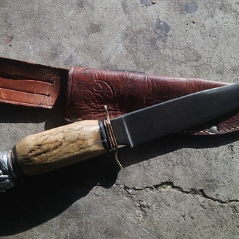 puma solingen knife. one of a kind .