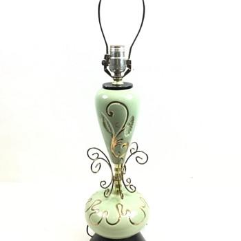 Beautiful Porcelain Lamp