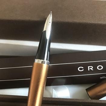 My unusual Cross fountain pen - Pens