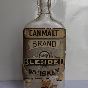 Pre-Prohibition Whiskey Bottle