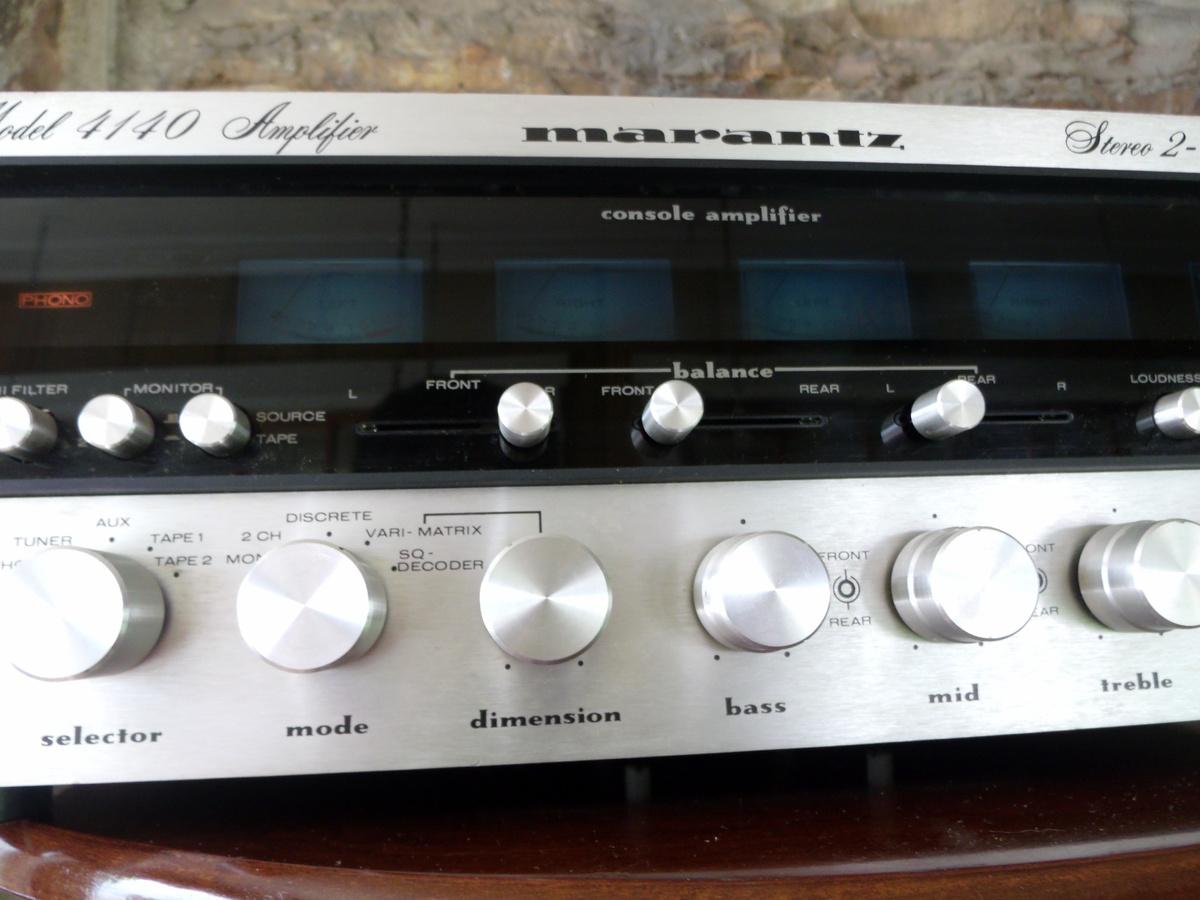marantz 4140 quadraphonic amplifier collectors weekly  8 Track Quadraphonic Amplifier