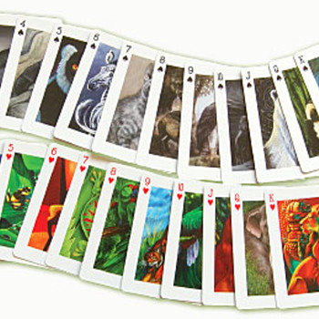 Endangered Ark Playing Card Deck - Cards