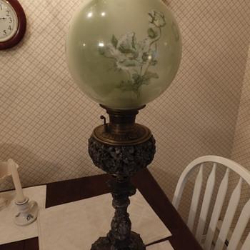 Bradley & Hubbard - 1889 kerosene lamp  - Lamps