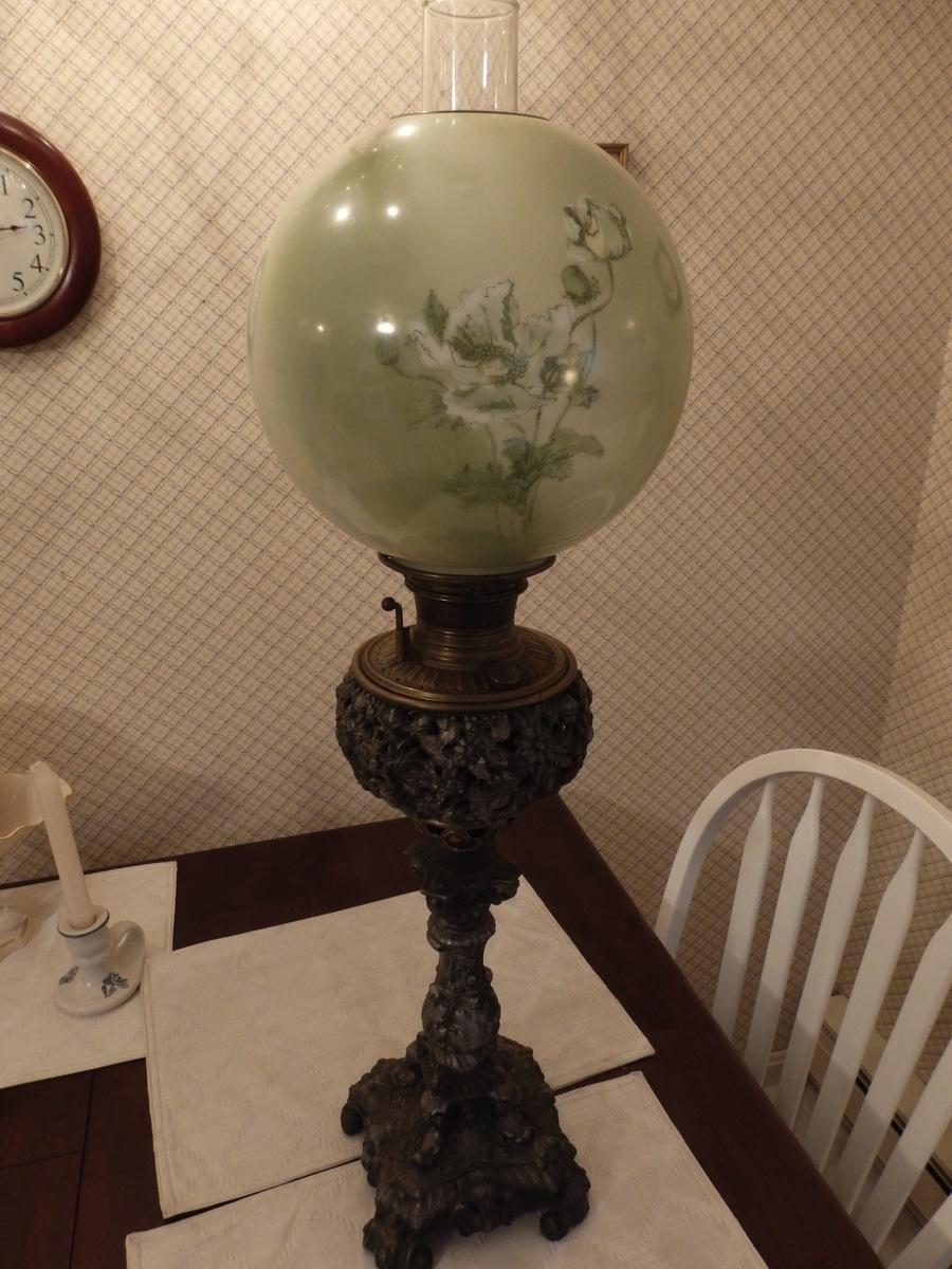 Bradley Amp Hubbard 1889 Kerosene Lamp Collectors Weekly