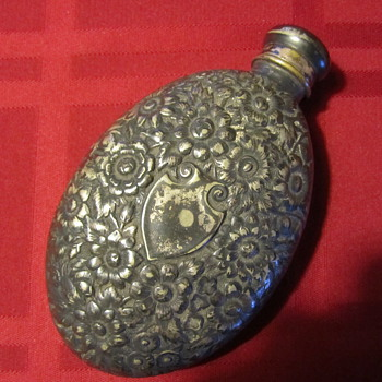 Old Flower Flask
