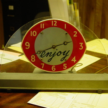 Trying to Find out what company this clock was for - Clocks