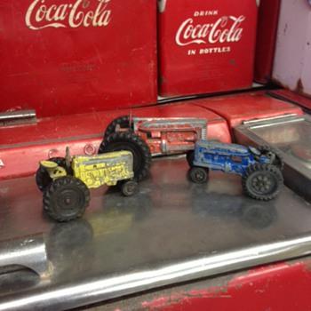 Hubley Tractors - Toys