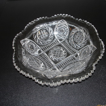 GLASS SERVING PLATE - Glassware