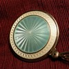 Gorgeous Guilloche Pocket or Purse Mirror
