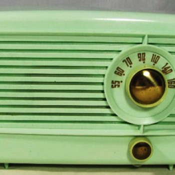 Little Green Tube Radio, pre-1953 - Radios