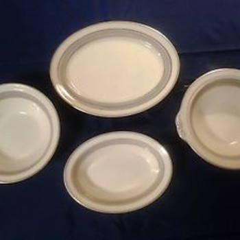 VICTORIAN PATTERN BY JOHNSON BROTHERS CROWN MARK - China and Dinnerware