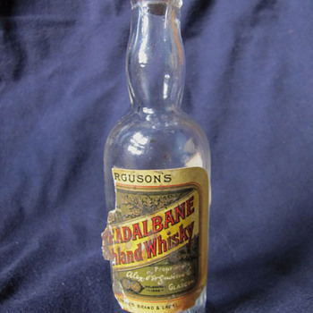 Alex Ferguson's Breadalbane Highland Whisky 1900-1903 - Bottles